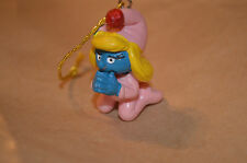 Smurfette Praying Christmas Ornament Rare Smurf Vintage Figure #1347