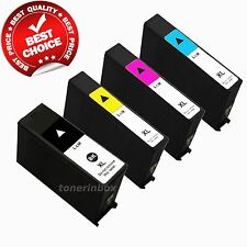 4 Pack 100XL Ink Cartridge For Lexmark S301 S305 S405 S505 S605 S815 S816