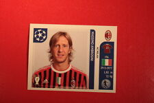PANINI CHAMPIONS LEAGUE 2011/12 N 505 AMBROSINI MILAN WITH BLACK BACK MINT!!