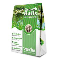 VELDA GROWTH BALLS POND PLANT FOOD FEED FERTILISATION WATER LILIES FEEDING
