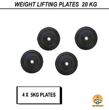Gb Home Gym High Quality 20Kg Rubber Plates For Gym Exercise