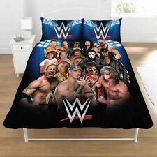 WWE Legends Panel Double Bed Duvet Quilt Cover Bedroom Bedding Set New Gift