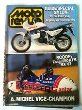 MOTO REVUE n° 2767 du 10/1986; Guide Salon/ Essai 250 KTM MX/ A. Michel champion