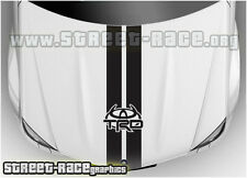 BS2109 Toyota TRD bonnet racing stripes graphics stickers Aygo Yaris Hilux