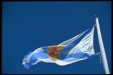 138070 Waving Flag A4 Photo Print
