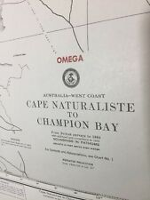 VTG 1985 Australia West Coast Cape Naturaliste - Champion Bay OMEGA Plot Chart