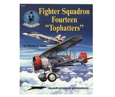 """Fighter Squadron Fourteen """"Tophatters"""" (VF-14, F-14, SB2U, Naval Aviation)"""