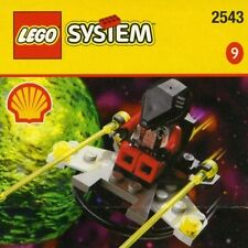 Lego 2543 Shell Promo #9 Space ALIEN SPACE PLANE w/Box & Instructions A
