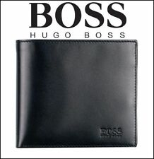 Hugo Boss AREZZO Men's Tri-Fold Coin Pocket Wallet, 100% Authentic!