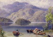 AK: Myles Birket Foster - »Ben Venue und Ellen's Isle, Loch Katrine«