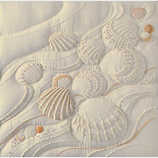 Candlewicking Embroidery Kit ~ Janlynn Ocean's Edge Sculpted Seashells #CR-58