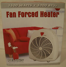 Pelonis Heater Fan-Forced Portable Thermostat Controlled Room Air Heat HF-0003