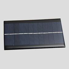 6V 1W Solar Panel DIY for Light Battery Cell Phone Chargers Portable