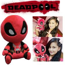 "7"" Small Cute Deadpool Q Version Soft Plush Stuffed Teddy Doll Toy"