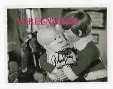 Mickey Rooney signed SANTA CLAUS COMING TO TOWN photo TV special Rankin Bass !!