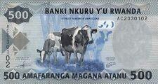 Ruanda/kinyarwanda 500 francos 2013 pick 38 (1)