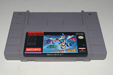 MEGA MAN X MEGAMAN 10 Super Nintendo SNES Game Cart! Tested