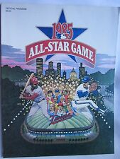 1985 All Star Game Official Program Game at Minnesota Twins Excellent+ Condition