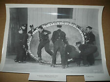FIREMAN SAVE MY CHILD, orig b/w [Buddy Hackett alights from safety net] 1754-7