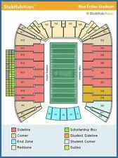 (2) Utah Utes Football vs Washington Huskies Tickets 10/29/16 (Salt Lake City)