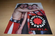 RED HOT CHILI PEPPERS !!!! MINI POSTER COULEURS !!!!!!!2013!!!!!!!!!!!!!