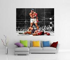 MUHAMMAD ALI VS SONNY LISTON GIANT WALL ART PHOTO PRINT POSTER