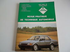 REVUE TECHNIQUE FORD ORION 86 ESSENCE et DIESEL