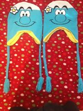 2 TWO - THE SMURFS HATS - NEW SMURF CAP BEANIES HAT HOODIES - ONE SIZE FITS ALL