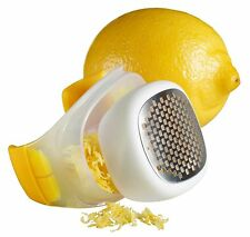 Chef'n PalmZester No Mess Citrus Zester - Lemon Yellow