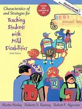 Characteristics of and Strategies for Teaching Students with Mild...