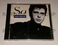So by Peter Gabriel (CD, Charisma/Virgin) MADE IN CANADA & ARGENTINA