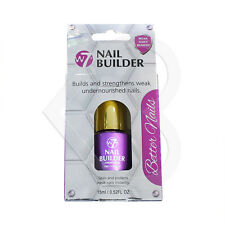 W7 Better Nails Nail Builder 15ml Strengthener for Weak Brittle Protects Repair