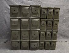 ( 24 Pack ) Combo 50 Cal / 308 Cal AMMO CAN VERY GOOD CONDITION * FREE SHIPPING*