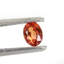 0.28 Cts Natural Certified Ceylon Orange Padparadscha Sapphire loose Gemstone