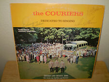 "THE COURIERS...""DEDICATED TO SINGING""...""AUTOGRAPHED""......OOP GOSPEL ALBUM"