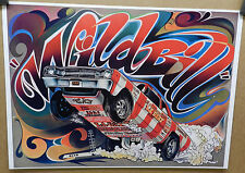 DODGE BOYS DART LA WHEEL STANDER HEMI SHREWSBERRY BILL 1968 DRAG RACING POSTER