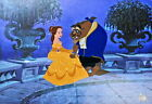 Disney Beauty And The Beast Cel ON THE TERRACE Rare Animation Art Edition cell