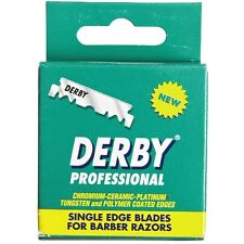 Derby Professional Single Edge Razor Blades 100 ea (Pack of 9)