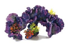 "Large Colourful Coral Reef Garden with Plants Aquarium Ornament 31.5cm (12.5"")"