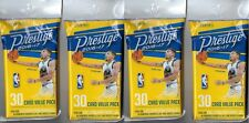 (4) 2016-17 Panini PRESTIGE Basketball NBA Trading Cards New 30ct. Fat Pack Lot