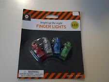 New ! 4PK Bright Up the night LED Finger Lights use in Darkened room or at night