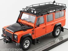 1:18 Land Rover Defender 110 One Ten Century Dragon Adventure-Orange RHD Custom