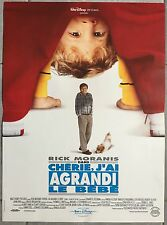 Affiche CHERIE J'AI AGRANDI LE BEBE Honey I blew up the kid MORANIS 40x60cm *