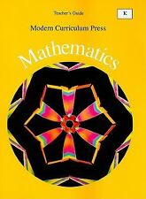 Modern Curriculum Press Mathematics, Level D, Teacher's Edition-ExLibrary
