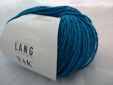 Lang Yarns Yak 50g Farbe 0179 türkis  weiche Wolle L