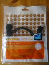 Signalex HDMI Cable 1m TV/DVD/Gaming Quality 19-pin male-male Connection **NEW**