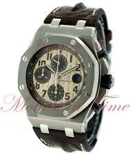 Audemars Piguet Royal Oak Offshore SAFARI Watch 42mm Ivory 26470ST.OO.A801CR.01