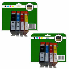8 Chipped Compatible Ink Cartridges for HP 5510 5515 5520 5524 6510 364x4 XL