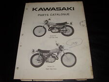 Vintage Kawasaki Parts Catalogue Manual 1971 350 F5 A 99997-512