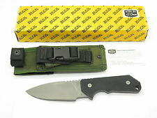 BUCK STRIDER SOLUTION 888 BOS ATS-34 FIXED BLADE TACTICAL KNIFE G10 HANDLE 2001